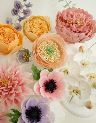 gumpaste blomster