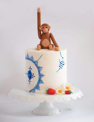 dansk kage med muselmalet og kaj boysen aben i fondant