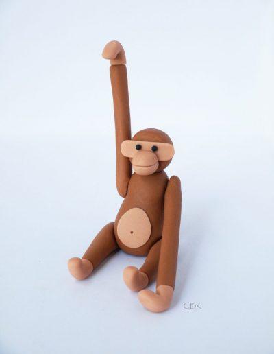 kaj boysen aben topfigur lavet i fondant