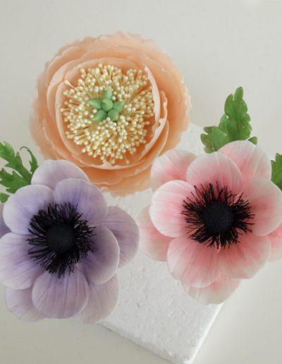 blomster i fondant