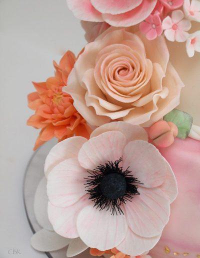 blomster lavet i fondant