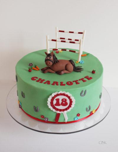 hestekage til fødselsdag