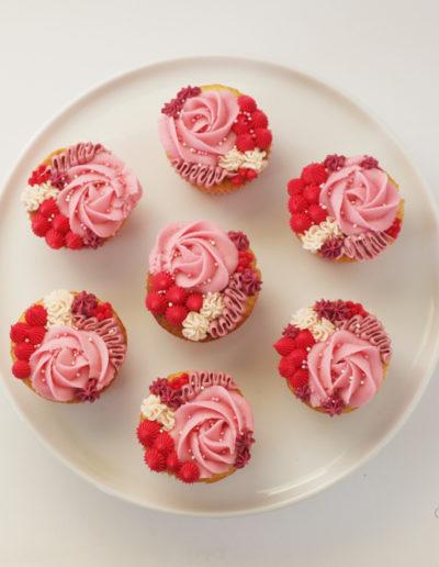 søde cupcakes til valentineday