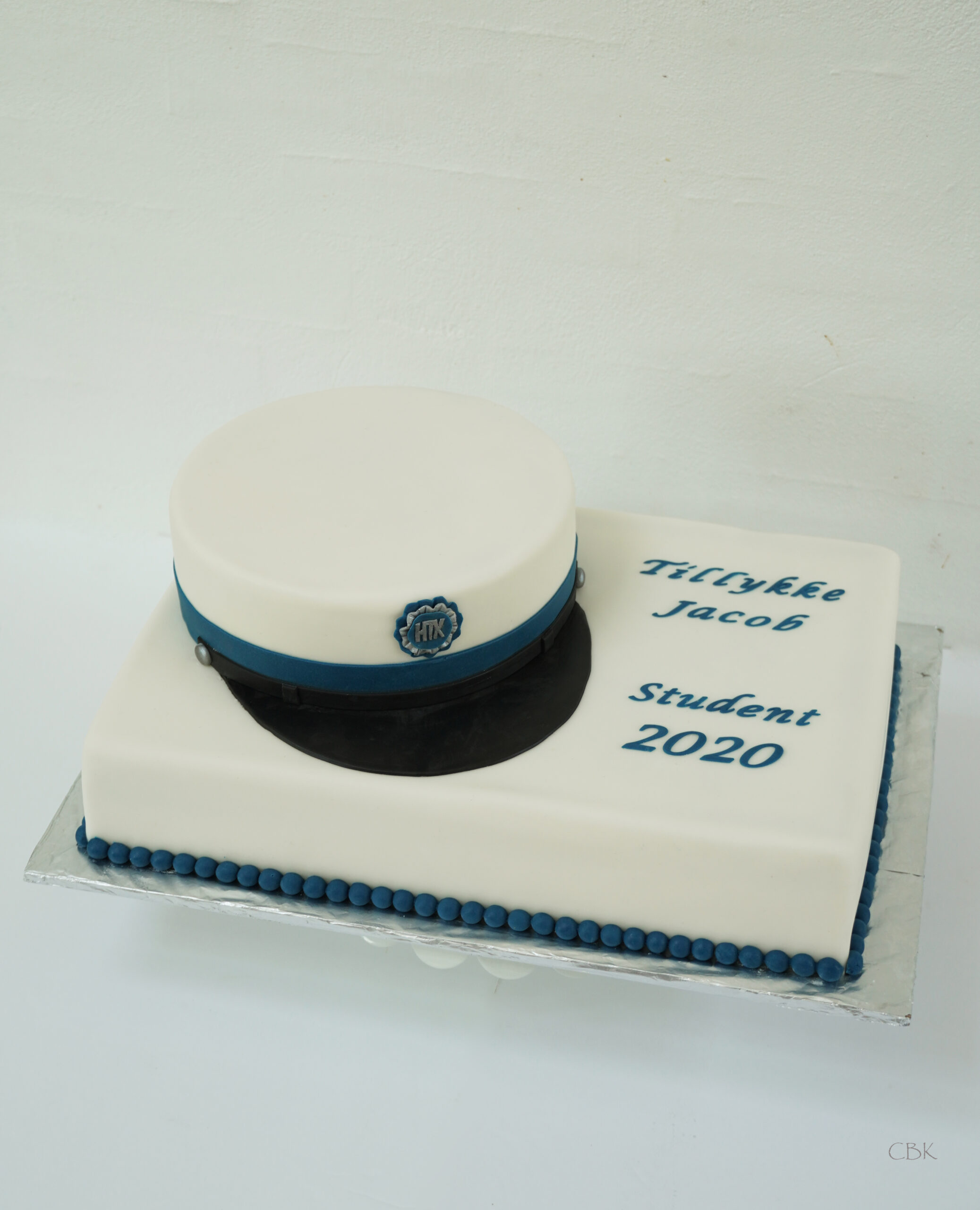 htxstudent blå kage
