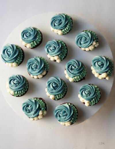 dåbskage cupcakes til dreng