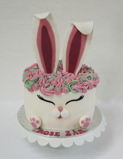 kanin kage til pige fødselsdag